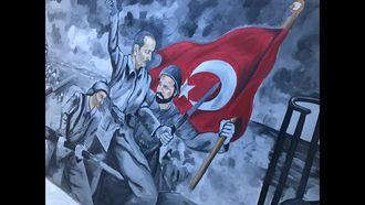 """Okulumuz öğretmenlerinde """"Çanakkale Türküsü"""" izle"""