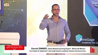 FATIH ETZ 2017 : Garrett ZIMMER - The Power Of Mınecraft And Game Based Learnıng Desıgn... izle