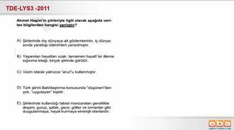Ahmet Haşim'in Şiirlerinin Genel Niteliği izle