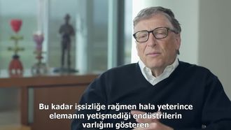 Bill Gates ve Müdür Cheryl Hyman görüşmesi izle