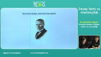 Mustafa Kemal'in Doğumu, Ailesi ve Çocukluğu izle