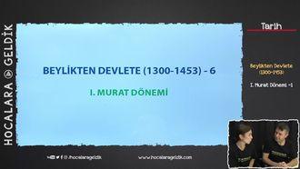 I. Murat Dönemi -1 izle