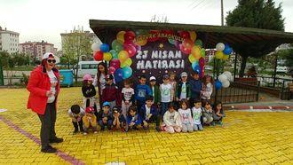Çanakkale Atatürk Anaokulu 23 Nisan Çocuk Şenliği izle