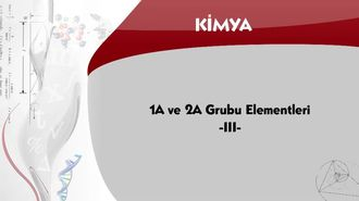 1A ve 2A Grubu Elementleri - 3 izle