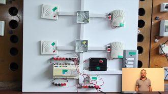 Apartman Sesli Hab.Sistemı İletken Bağlantısı izle