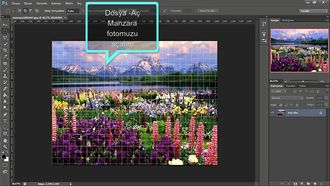 Grafik ve Animasyon Photoshop Dersleri - Yağmur Efekti Çalışması izle
