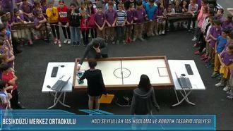 ROBOFUTBOL(Beşikdüzü Merkez Ortaokulu Kodlama Haftası Etkinliği) izle