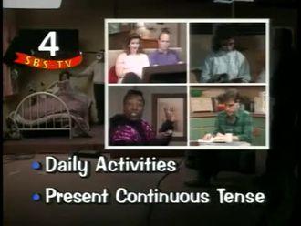 Present Continuous Tense izle